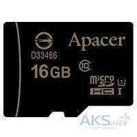Карта памяти Apacer microSDHC 16GB Class 10 UHS-1 (без адаптера) (AP16GMCSH10U1-RA)
