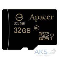 Карта памяти Apacer microSDHC 32GB UHS-l Class 10 (без адаптера) (AP32GMCSH10U1-RA)