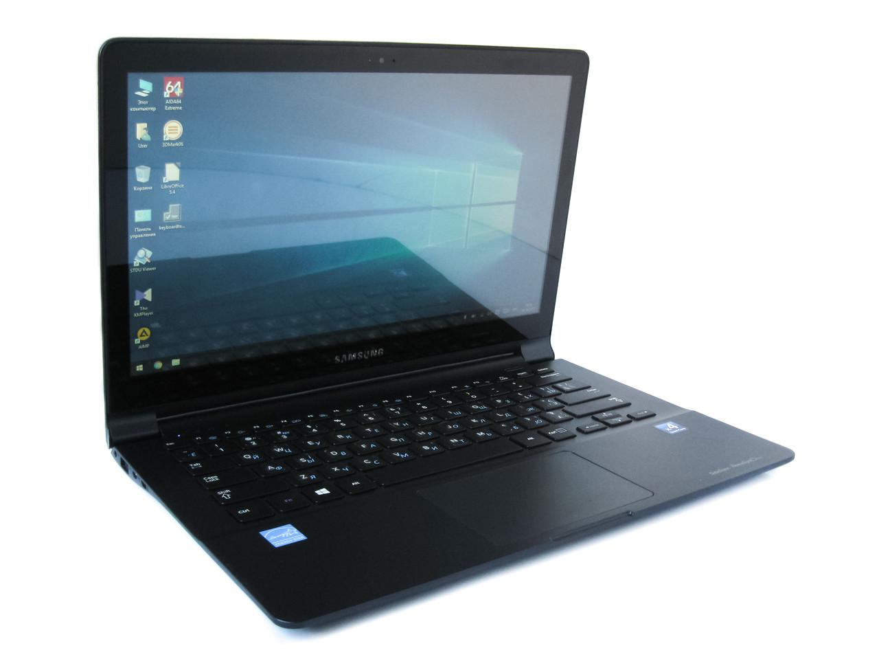Сенсорный ультрабук Samsung NP915S3G 13.3 (1366x768) / AMD A6-1450 (4x