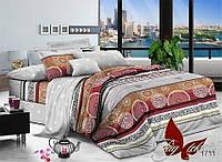 Комплект постельного белья ТМ TAG семейный, постельное белье семейное 1711