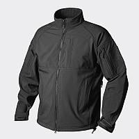 Куртка COMMANDER - Shark Skin Windblocker - чёрная ||BL-CMR-FM-01