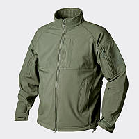 Куртка COMMANDER - Shark Skin Windblocker - олива ||BL-CMR-FM-02