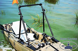 Тюнінг риболовного каяка Fishn-GO Колібрі аксесуарами FASTen. Стильно і зручно! Всі аксесуари Фастен Ви можете придбати у човнових інтернет-магазині Аква Крузер.