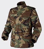 Куртка M65 Helikon-Tex - Nyco Sateen - US Woodland ||KU-M65-NY-03