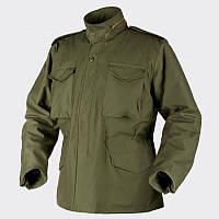 Куртка M65 Helikon-Tex - Nyco Sateen - олива ||KU-M65-NY-02