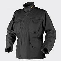 Куртка M65 Helikon-Tex - Nyco Sateen - чёрная ||KU-M65-NY-01