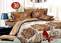Комплект постельного белья ТМ TAG семейный, постельное белье семейное R351