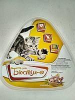 Кормовая добавка с чесноком для кошек Фито Биостим 40 (Бреверс)