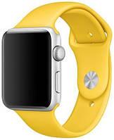 Ремень Apple Watch 42mm/44mm (Yellow), фото 1