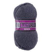 Kartopu Gonca №K1003 насыщенно-серый
