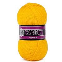 Kartopu Gonca №K320 ярко-желтый