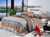 Комплект постельного белья ТМ TAG семейный, постельное белье семейное R110925