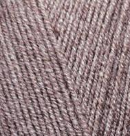Alize Lanagold Fine №240 коричневый меланж