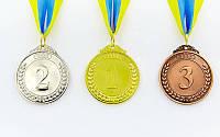 Медаль спортивная с лентой START d-5см (металл, 27 g)
