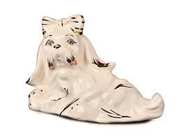 Фигурка декоративная Собачка Милашка керамическая 10 см 101-754