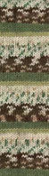 Alize Motif №1674 молочно-зелено-коричневый