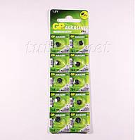 Батарейка таблетка GP 164, LR60,G1, LR620 Alkaline
