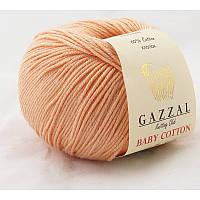 Gazzal Baby Cotton №3412 персиковый