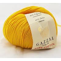 Gazzal Baby Cotton №3417 желтый