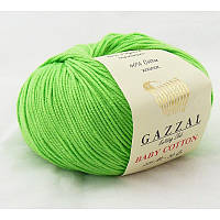 Gazzal Baby Cotton №3427 салатовый