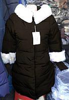 Пуховик Зима черный размер М