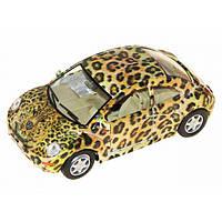 """Машина металл. """"Kinsmart"""" Volkswagen New Beetle KT-5062-W"""