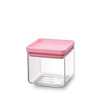 Модульная квадратная банка Brabantia 0.7 л (розовая)