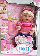 Пупс Baby born Бейби борн (5 аксессуаров, пьет, ходит на горшок),Беби борн, Бэби борн
