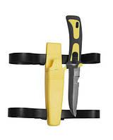 Нож для дайвинга ′FROGMAN′ DIVING KNIFE желтый