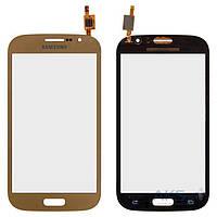 Сенсор (тачскрин) для Samsung I9060i Galaxy Grand Neo Plus Original Gold