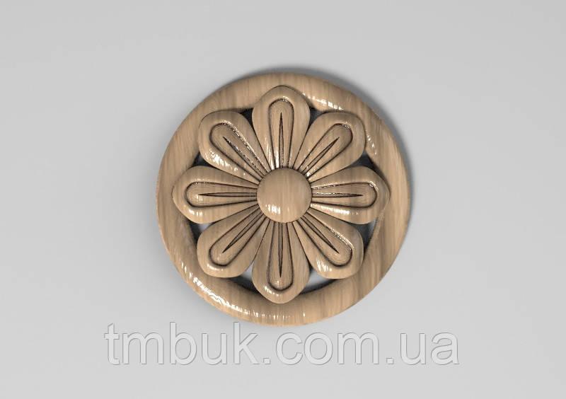 Розетка 17 - 60х60 - цветок