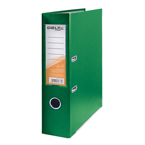 Папка-регистратор Delta 7.5 см зеленая D1714-04C