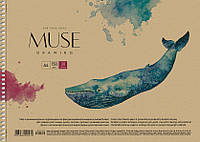 Альбом для рисования Muse 30 л спираль 030-140 Школярик