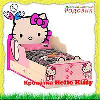 """Детская кроватка """"Hello Kitty"""" + подарок одеяло"""
