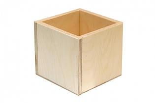 Стакан деревянный 8*8*10 см Rosa Talent