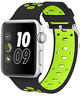 Ремень Nike Sport Band for Apple Watch 38mm (Black/Green)