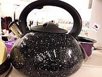 Чайник ALF 3.0л черный мрамор