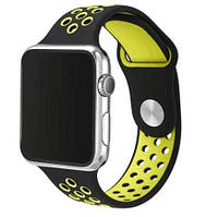 Ремень Nike Sport Band for Apple Watch 38mm (Black/Yellow)