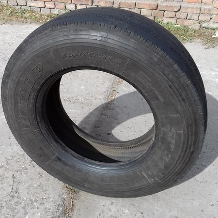 Шины б.у. 235.75.r17.5 Dunlop SP344 Данлоп. Резина бу для грузовиков и автобусов