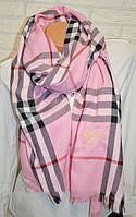 Палантин Burberry (Барберри) розовый