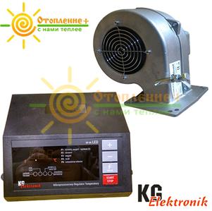 KG Elektronik SP 05 LED + DP 02 Комплект автоматики для твердотопливных котлов