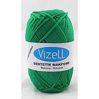 Vizell Macrame №392 зеленый