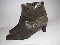 GABOR FASHION _Шикарные качественные ботинки _Кожа _ Португалия_6Р-ст. 26 н67