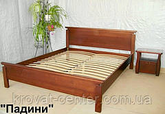 """Кровать полуторная """"Падини"""". Массив - сосна, ольха, береза, дуб., фото 3"""