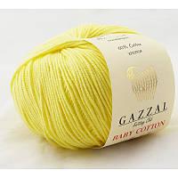 Gazzal Baby Cotton №3413 нежно желтый