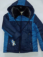Куртка на овчине для мальчика Украина