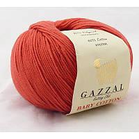 Gazzal Baby Cotton №3418 красный