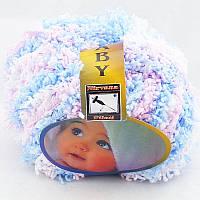 Nirvana Filati Baby Бело-голубо-розовый