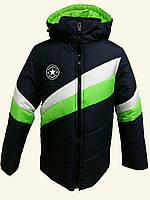 Куртка зимняя с капюшоном на мальчика 17003
