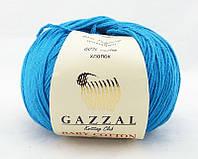 Gazzal Baby Cotton №3428 бирюзовый